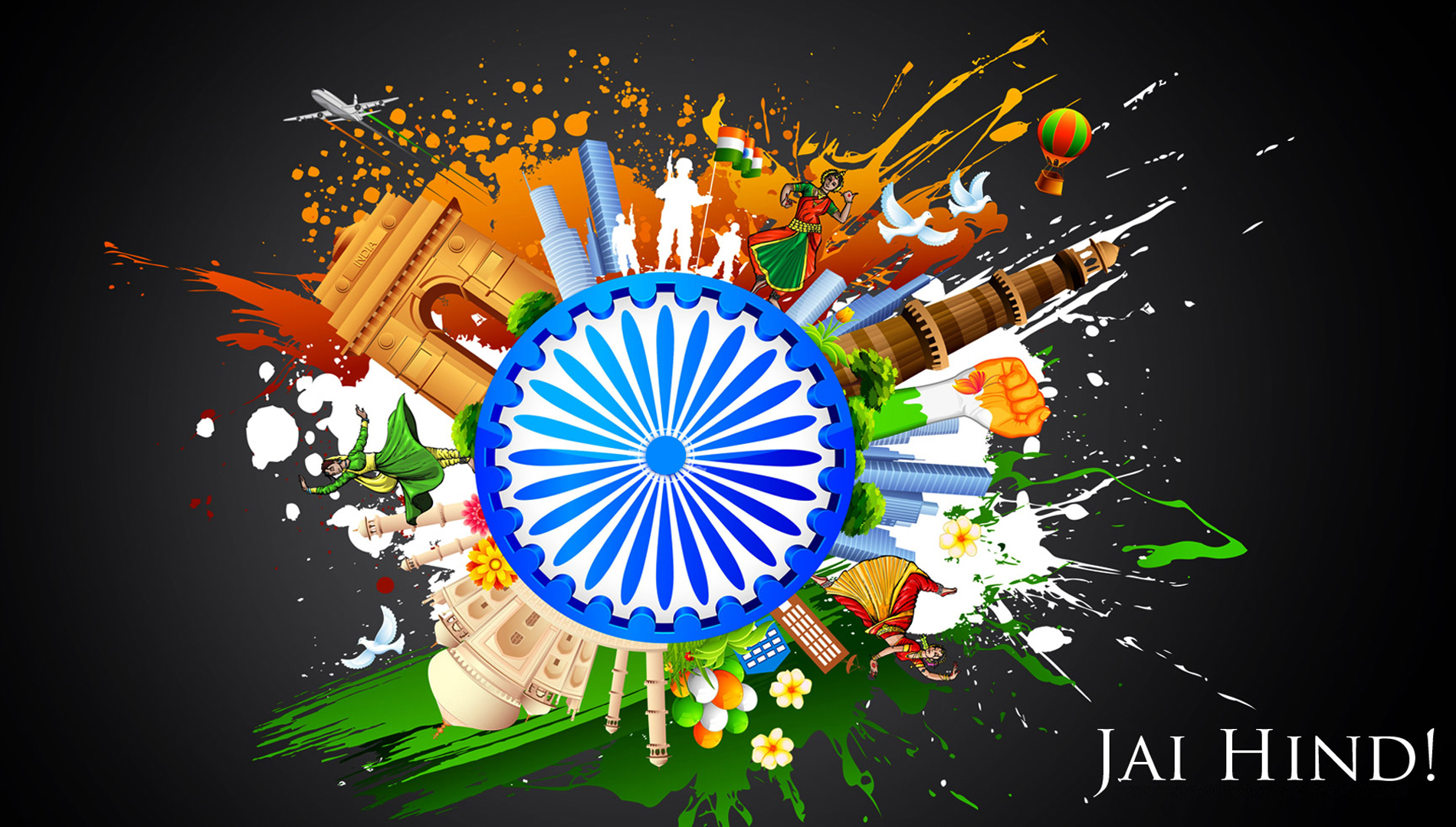 Free Independence Day 2015 Wishes Wallpapers Download 2446326