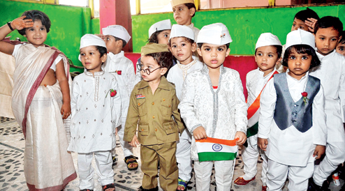 Independence Day kid-like fancy dress competition