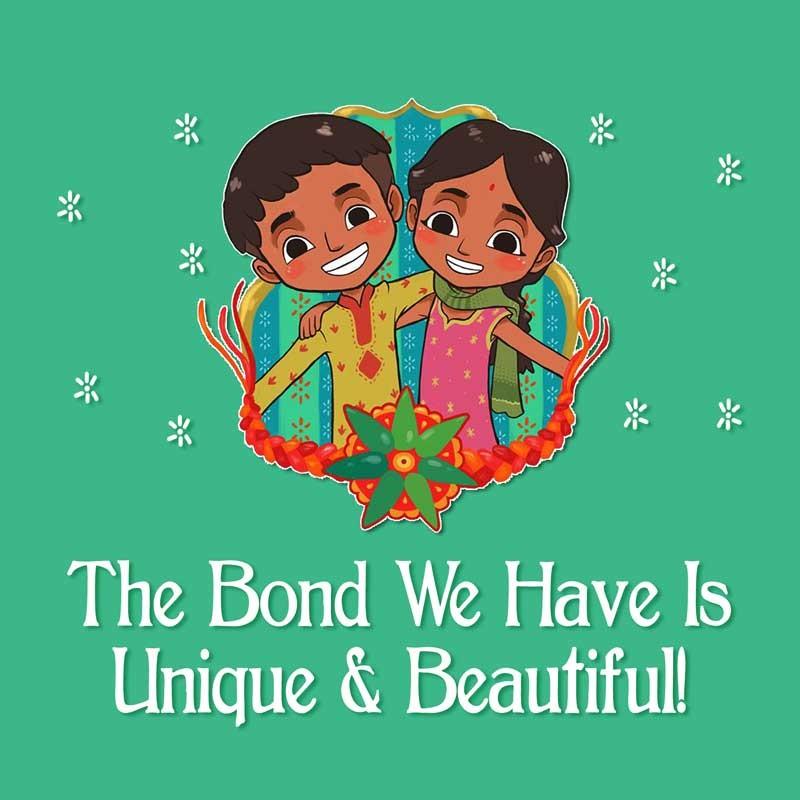 Card Making Ideas For Raksha Bandhan Part - 26: The_Bond_We_Have_Recordable_Greeting_Card-Raksha Bandhan 2015- Personalized  Voice Greeting Cards