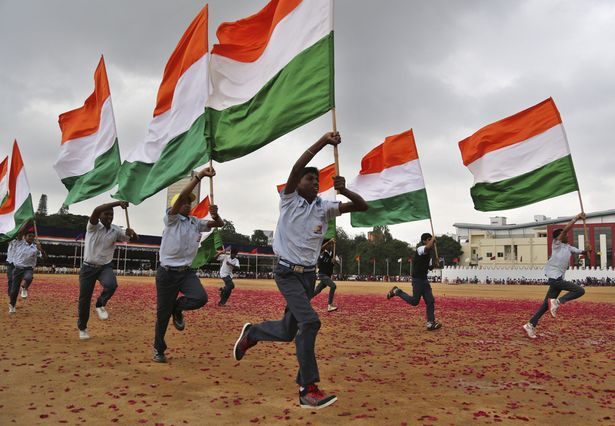 india Independence Day somber celebration