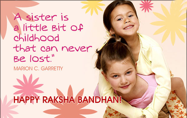 {Top} Raksha Bandhan Quotes Messages for Sister