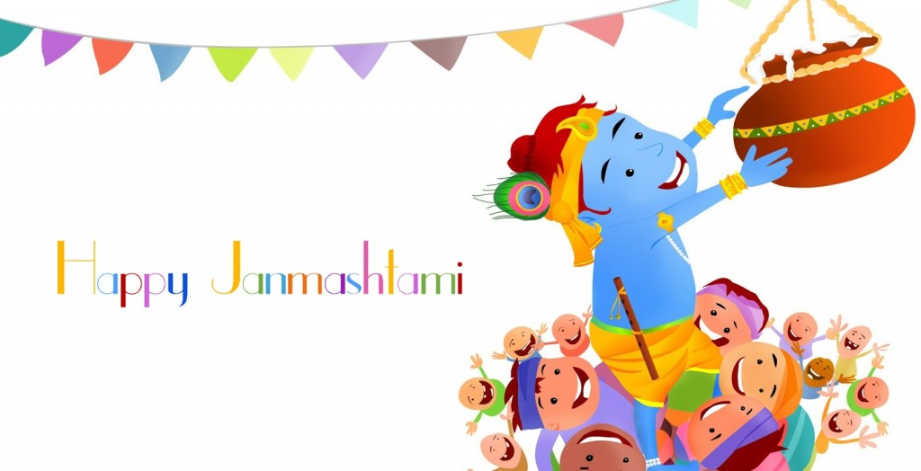 Dahi-Handi-wallpapers- celebrate krishna janmashtami