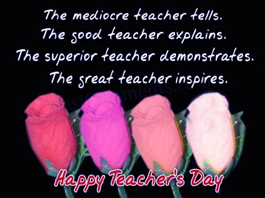 Happy Teachers Day Quotes in English, Hindi, Marathi for Teachers-6