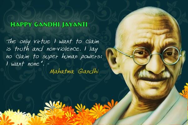 Quotes from mahatma gandhi 2016