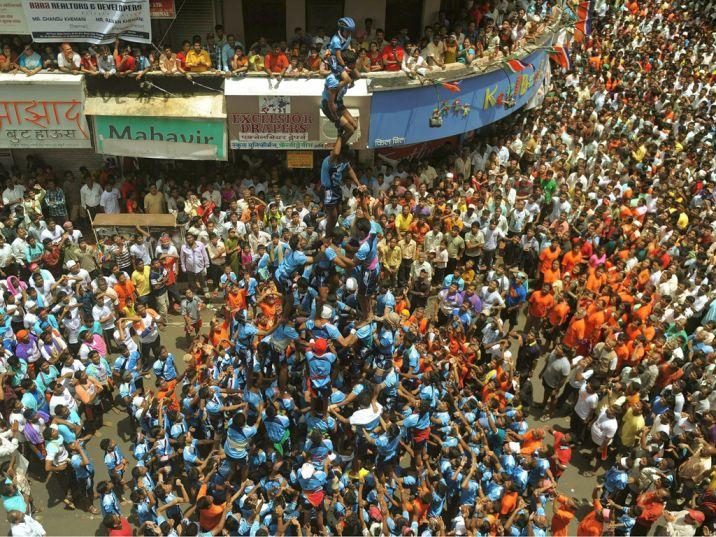 Mumbai -pune-Dahi Handi-2015