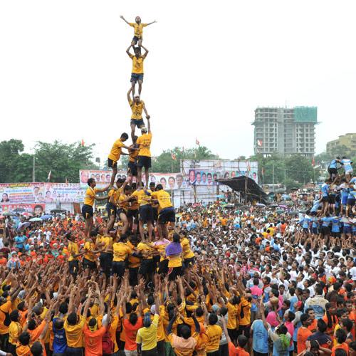 dahi-handi-celebrate krishna janmashtami-2015