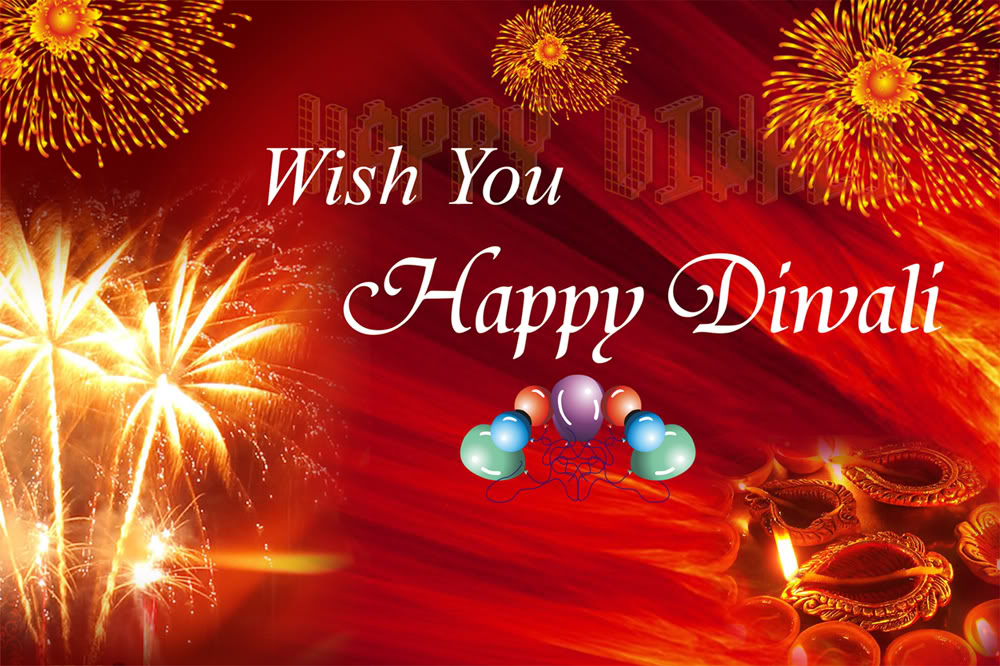 Happy diwali greetings card wblqual happy diwali greetings cards wishes wallpapers greeting card m4hsunfo