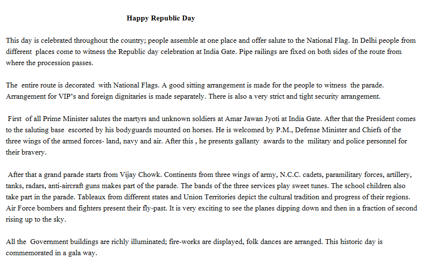 republic day speech in english for students 26 republic day speech in english