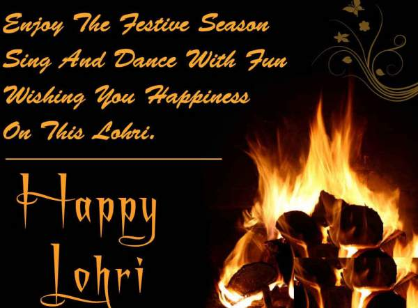 Lohri SMS, Messages & Wishes, Quotes in Hindi, English & Punjabi