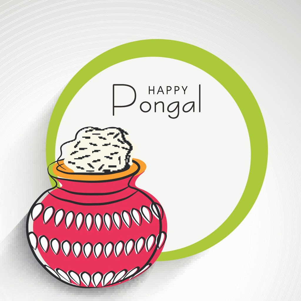 Happy-Pongal Greetings SMS Messages In Hindi And Tamil