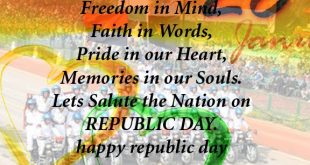 {26 January} Republic Day Status for Whatsapp & Facebook