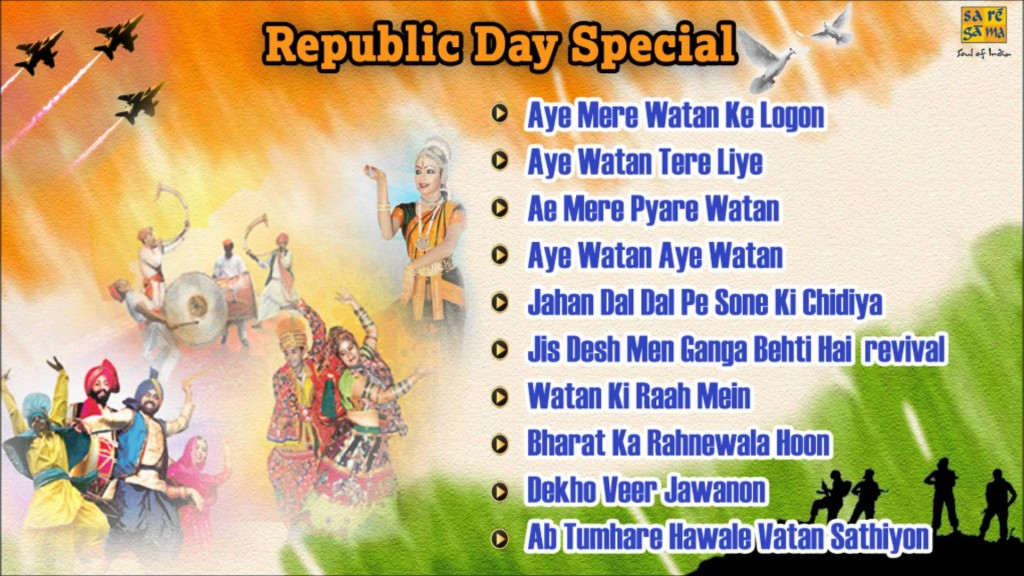 Republic Day Top 10 new age patriotic songs in India