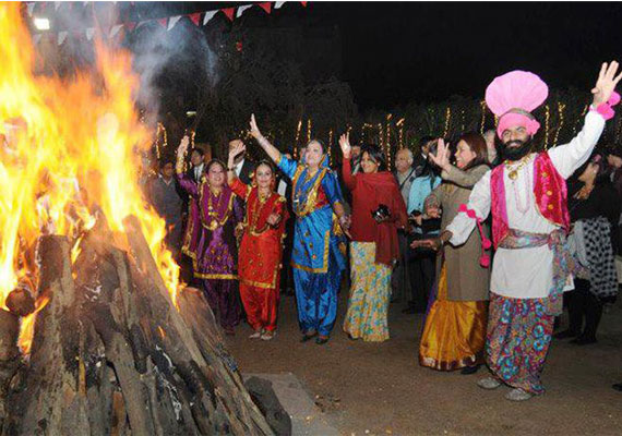 With_bonfires_LOHRI CELEBRATIONS IN INDIA