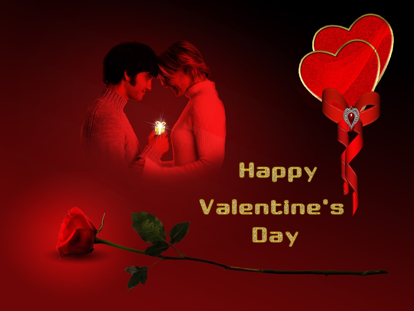 Couple-in-Love-Happy-Valentines-Day-Wallpaper