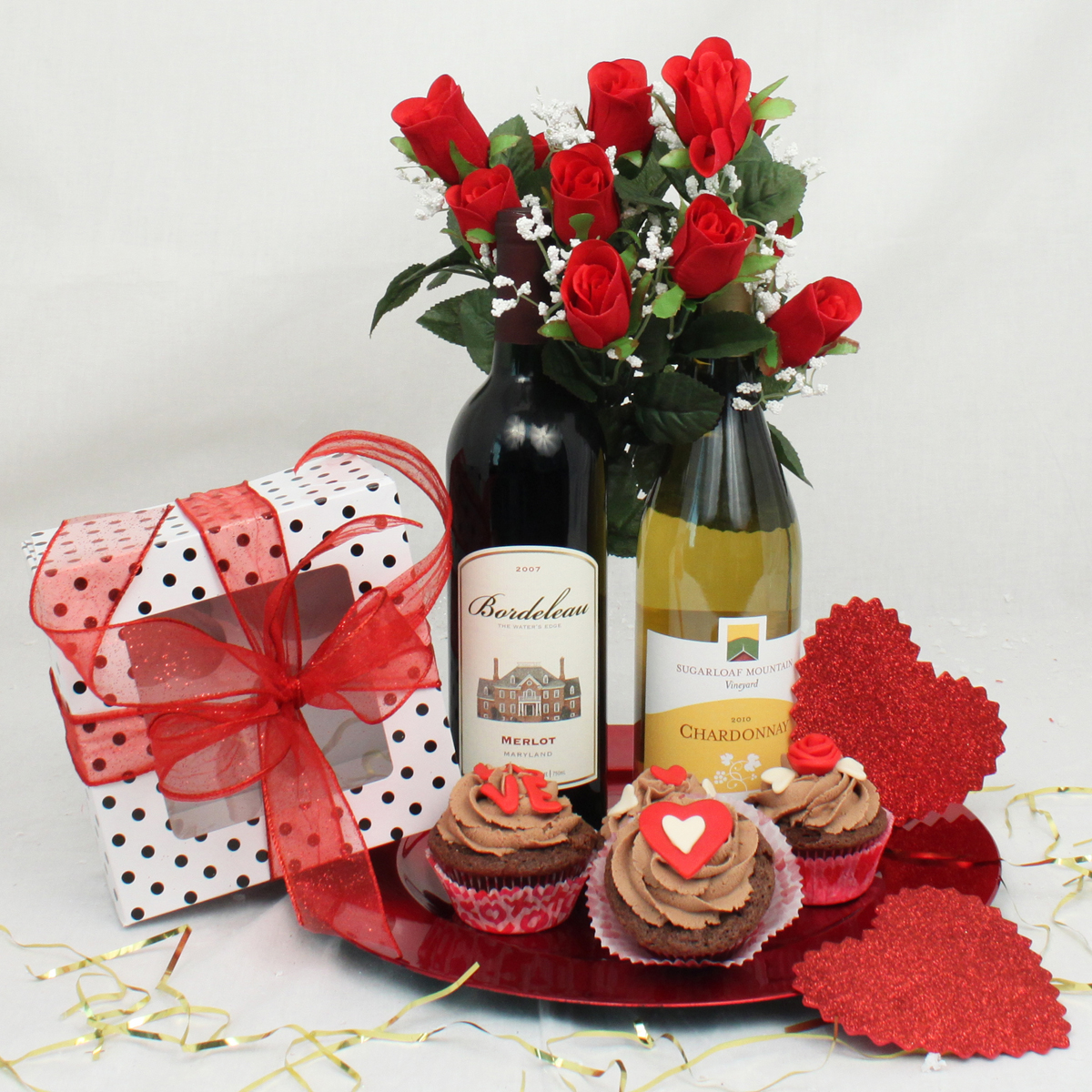 Valentine Day 2015 gift basket for men husband boyfriend