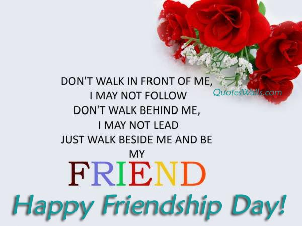 Friendship Day Quote For Wife : Best famous friendship quotes with images and wallpapers