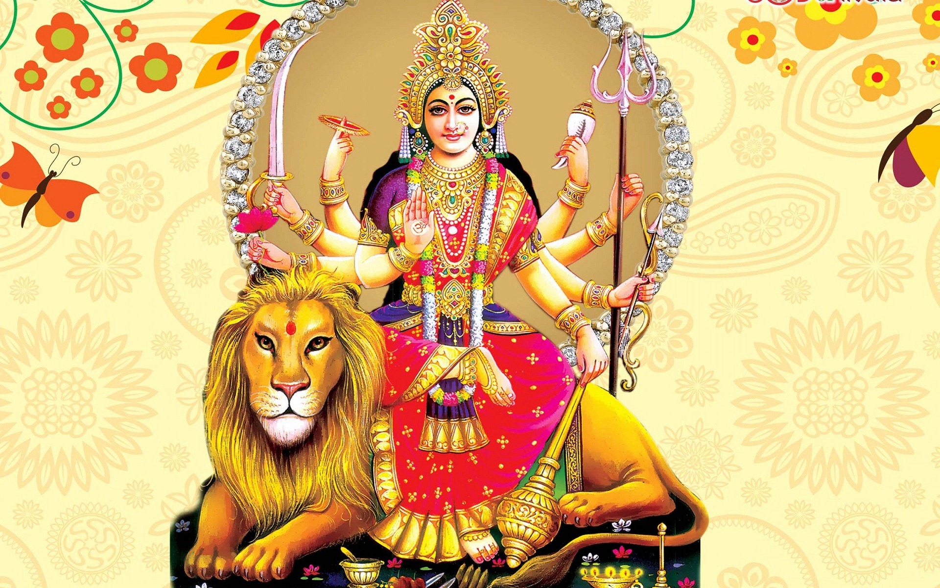 Image result for free images of maa durga