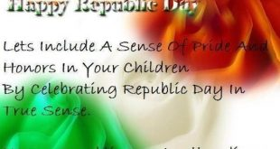 26 January Republic Day Speech in English for Students