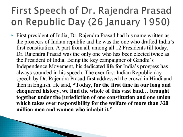 Republic Day 2018 Essay for Students, Kids, Childs