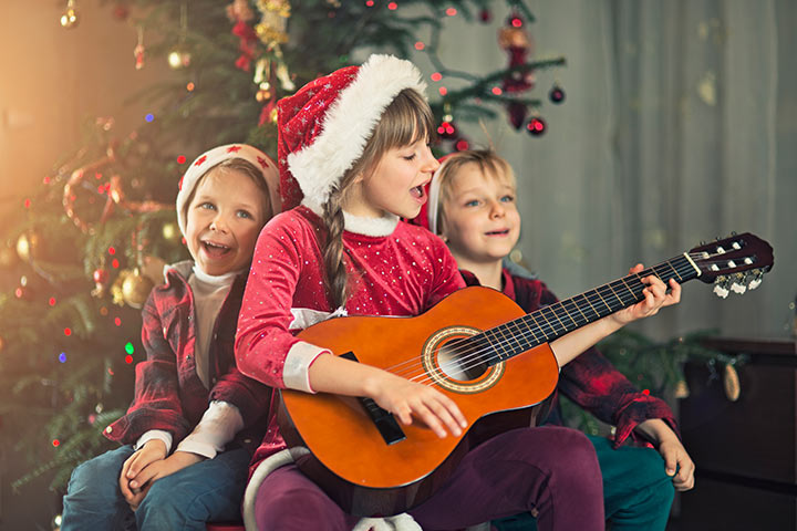 Merry Christmas Day Poems and Songs for Kids