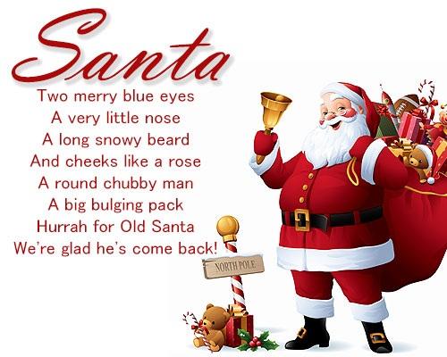 Santa-Christmas-poems