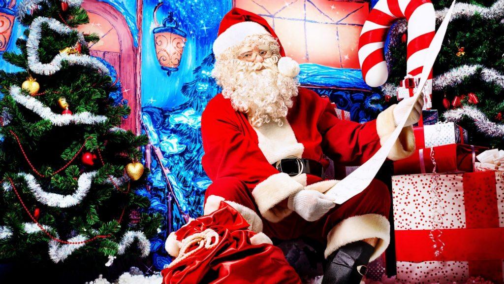 santa_claus_look_door_gifts_list_christmas