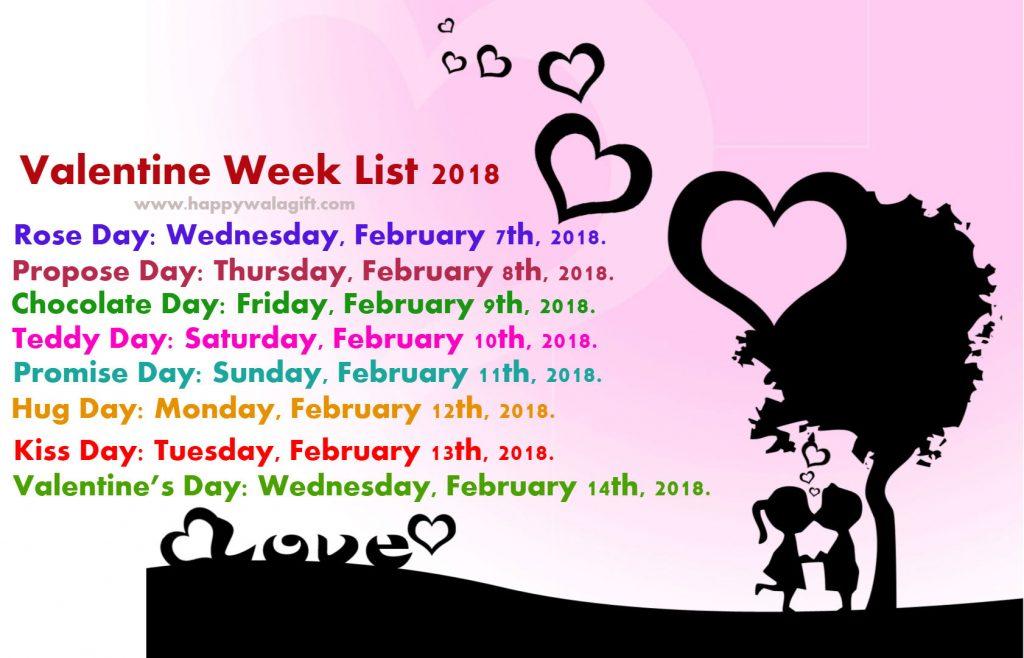 Valentine-Week-List-2018-Day-Dates-Schedule-Timetable-Calendar