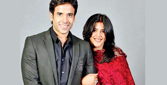 Ekta Kapoor and Tusshar Kapoor -Raksha Bandhan Special - Bollywood's real life brothers and sisters