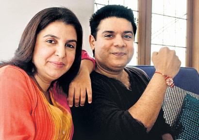 Farah Khan and Sajid Khan
