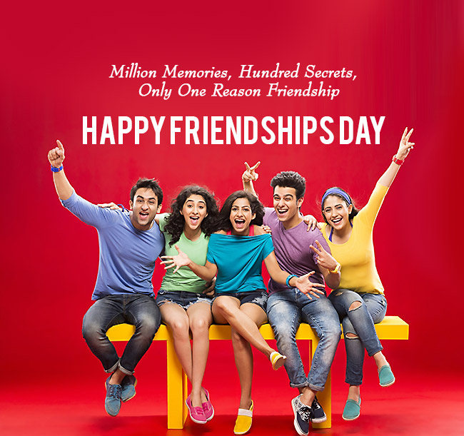 Happy_Friendships_Day_In Friendship, No Sorry No Thanks