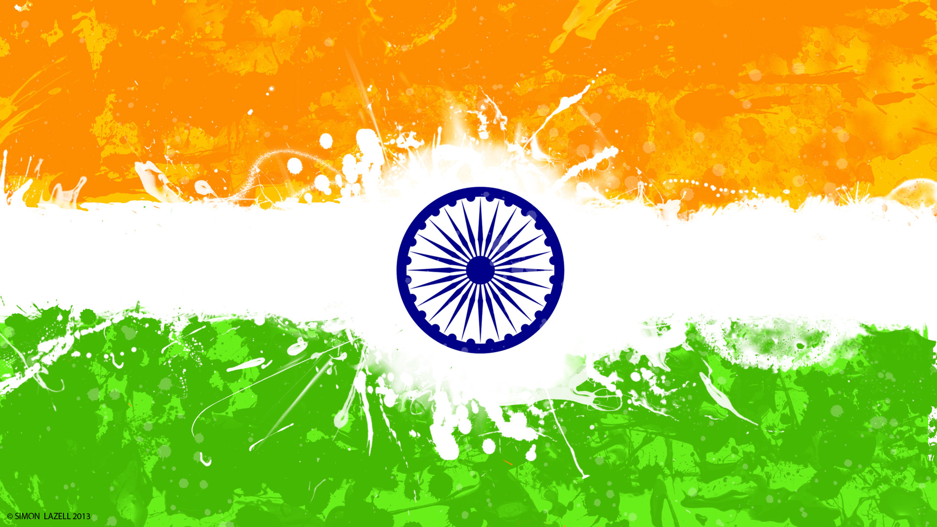 Indian Flag With Different Views: Indian Independence Day Photos 15 August 1947, Wallpapers