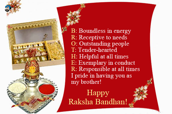 Latest Raksha Bandhan Quotes Wishes Messages for Brother-6
