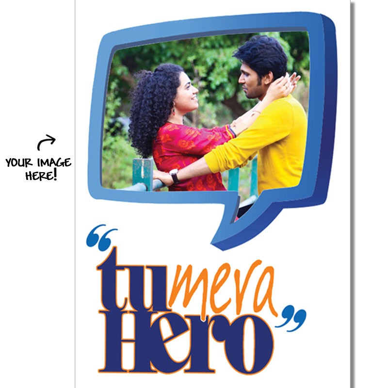 Personalized_Poster_Tu_Mera_Hero_gifts-for-men