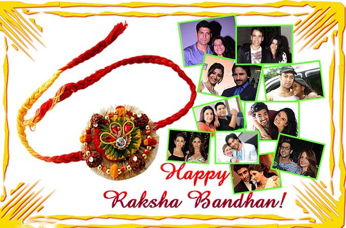 Raksha Bandhan-Bollywood's real life brothers and sisters