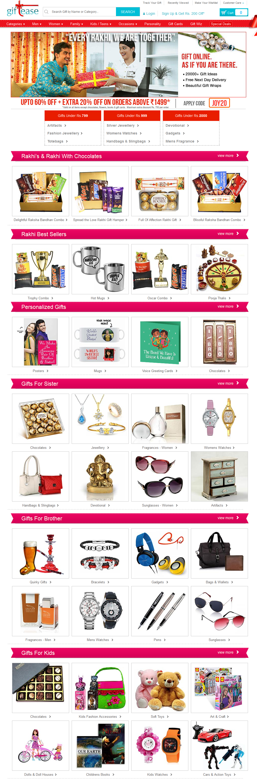 Raksha Bandhan Gifts Online for Sisters & Brothers - Rakhi Gifts 2015
