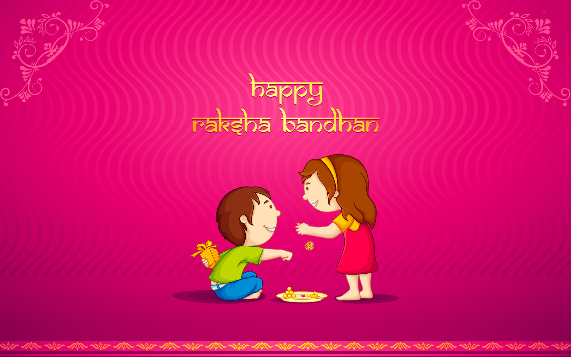 Raksha Bandhan HD Wallpapers-Sister-and-brother