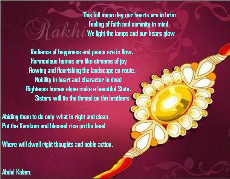 Raksha Bandhan Messages, Wishes, SMS, Quotes & Wallpapers