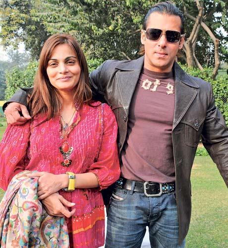 Salman and Alvira -Raksha Bandhan Special - Bollywood's real life brothers and sisters