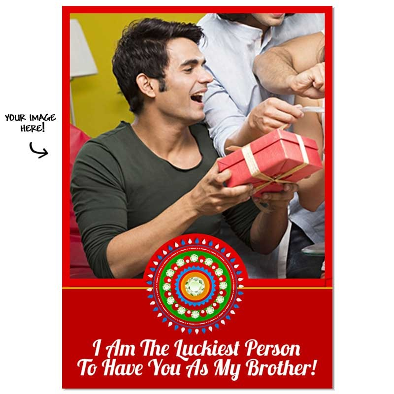 The_Luckiest_Person-_Personalized_Poster_Rakhi-gifts