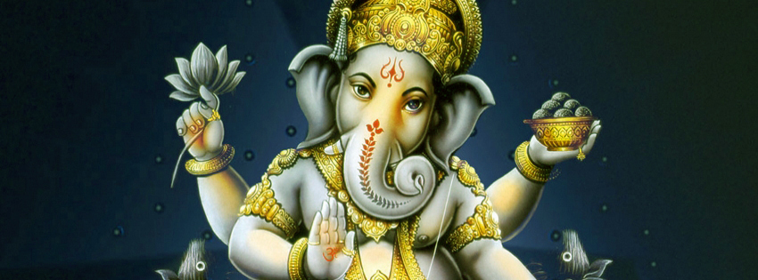 Ganesh Chaturthi Facebook (FB) Covers, Banners, Images Free Download