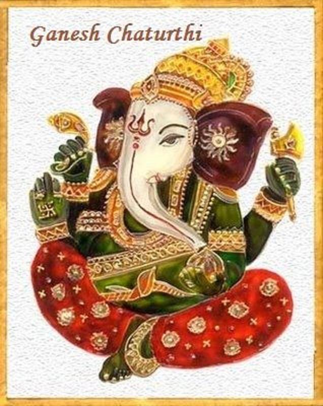 Ganesha -GREETING CARD MAKING