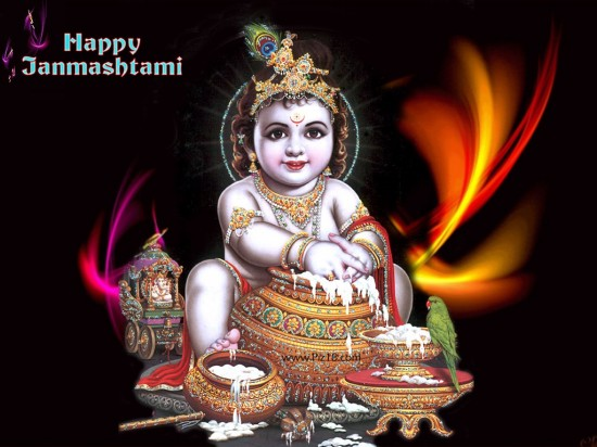 Happy Janmashtami Songs sms wishes messages pictures hindi wallpapers quotes shayari scraps HD-5