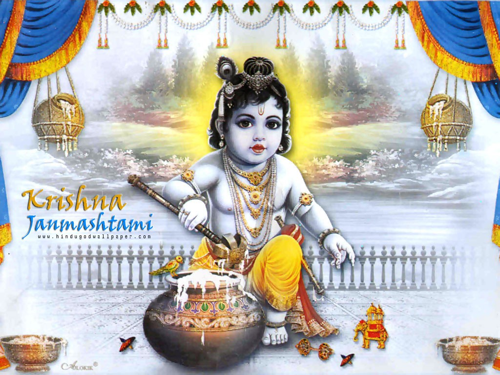 Krishna Janmashtami Smswishes Messageswallpapers