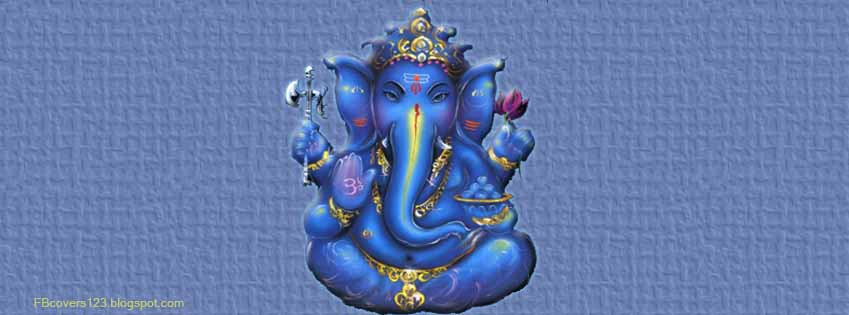 Lord Ganesha Images For Facebook Timeline Cover Picture-14