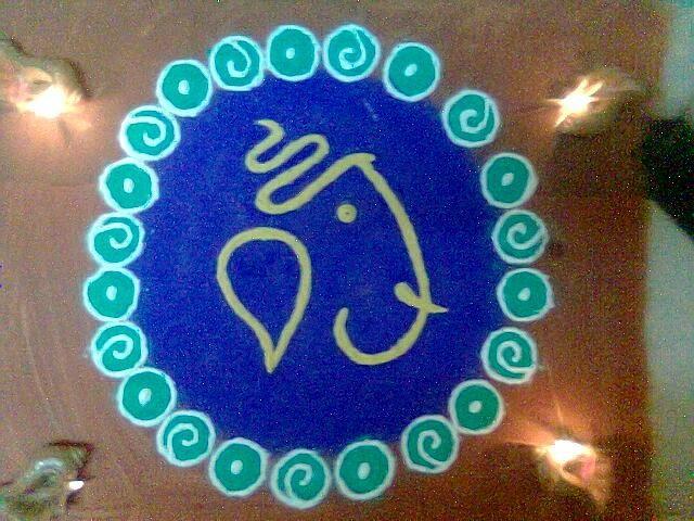 best-ganesh-rangoli-design-2