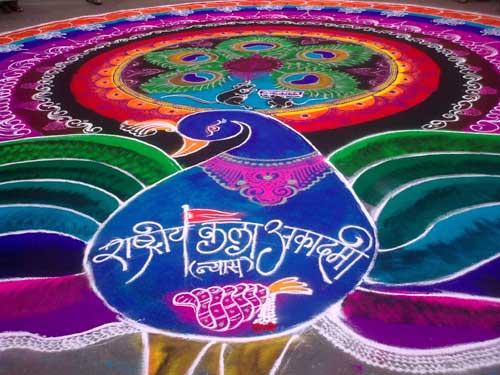 best-ganesh-rangoli-design-ganesh festival
