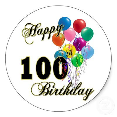Happy 100th Birthday How To Plan A Party
