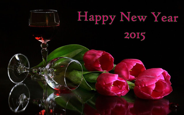 Happy-New-Year-2015-HD-Flowers-Wallpaper-Download