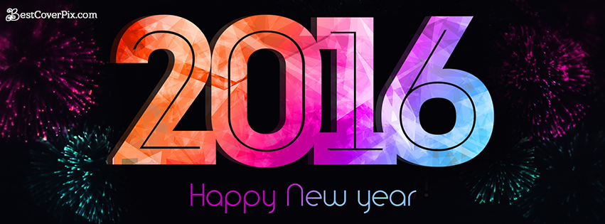 happy new year 2016 cover banner