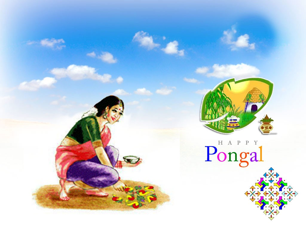 Happy Pongal Festival wallpapes